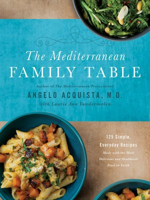 cover image of The Mediterranean Family Table