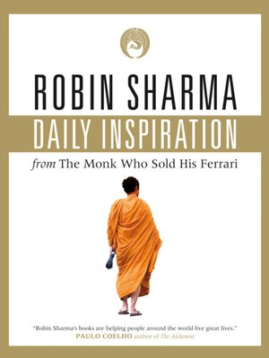 cover image of Daily Inspiration From the Monk Who Sold His Ferrari