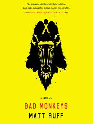 cover image of Bad Monkeys