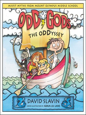 cover image of Odd Gods