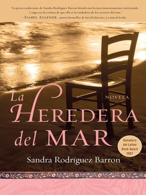 cover image of La heredera del mar