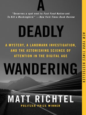 cover image of A Deadly Wandering