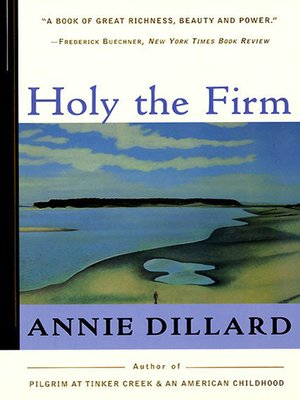 cover image of Holy the Firm