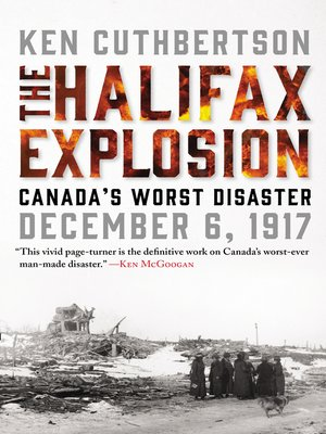 cover image of The Halifax Explosion