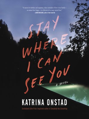 cover image of Stay Where I Can See You
