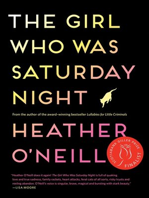 cover image of The Girl Who Was Saturday Night