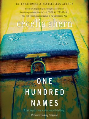 cover image of One Hundred Names