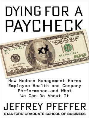 cover image of Dying for a Paycheck