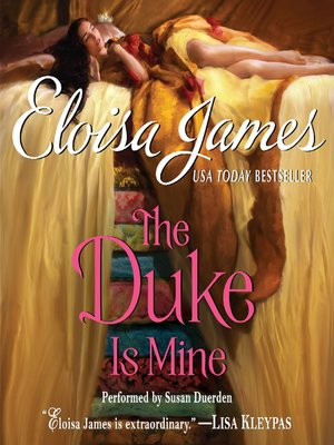 cover image of The Duke is Mine
