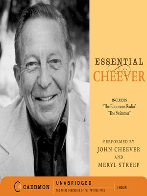 cover image of Essential Cheever