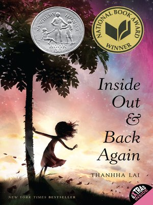 cover image of Inside Out and Back Again