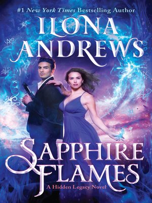 cover image of Sapphire Flames