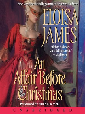 cover image of An Affair Before Christmas