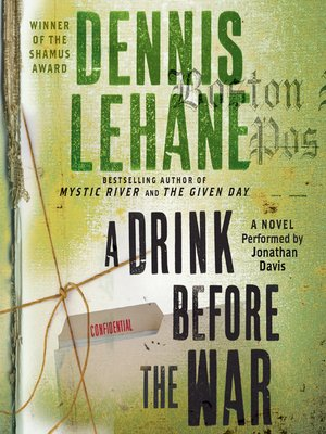 cover image of A Drink Before the War
