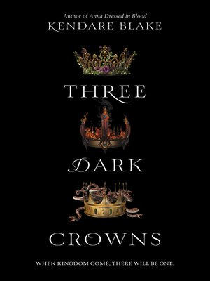 cover image of Three Dark Crowns