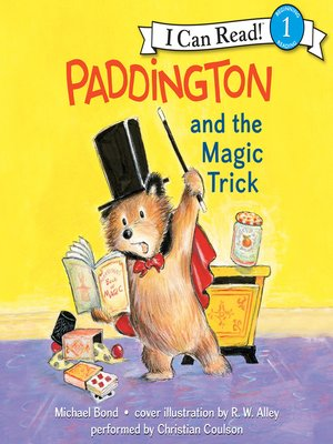 cover image of Paddington and the Magic Trick