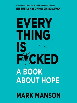 cover image of Everything is F*cked