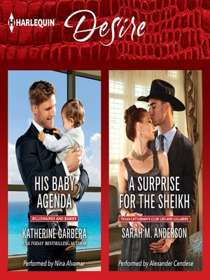 cover image of His Baby Agenda & a Surprise for the Sheikh
