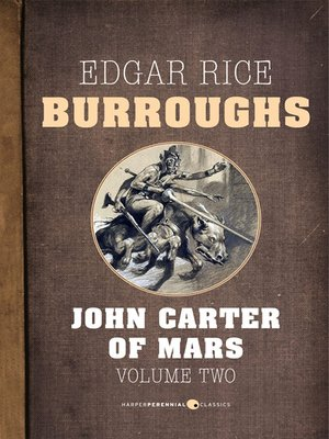 cover image of John Carter of Mars, Volume Two