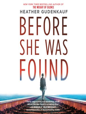 cover image of Before She Was Found