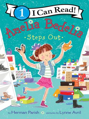 cover image of Amelia Bedelia Steps Out