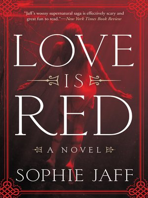 cover image of Love Is Red
