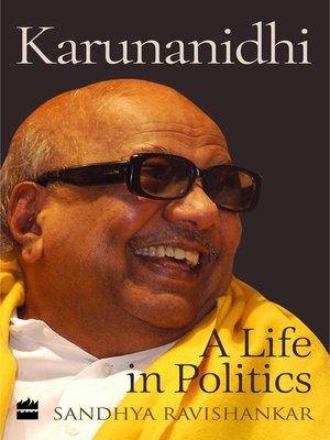 cover image of Karunanidhi