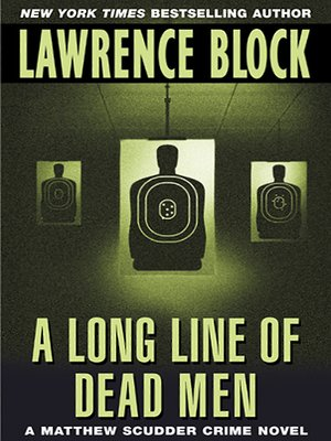 cover image of A Long Line of Dead Men