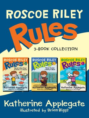 cover image of Roscoe Riley Rules 3-Book Collection
