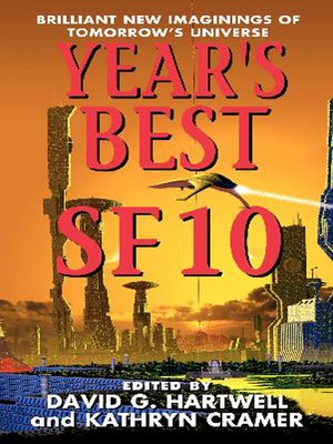 cover image of Year's Best SF 10