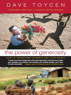 cover image of The Power of Generosity