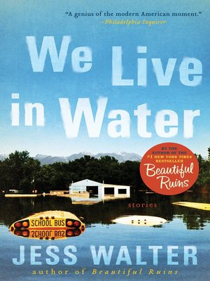 cover image of We Live in Water