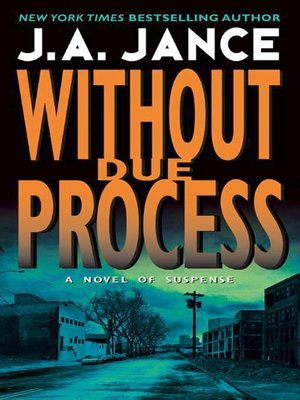 cover image of Without Due Process
