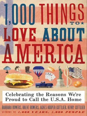 cover image of 1,000 Things to Love About America