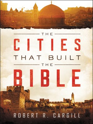 cover image of The Cities That Built the Bible