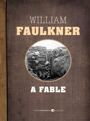 Image result for a fable william faulkner