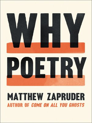 cover image of Why Poetry