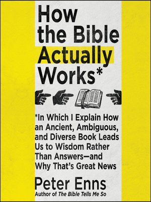 cover image of How the Bible Actually Works