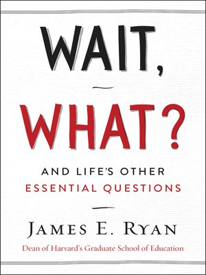 cover image of Wait, What?