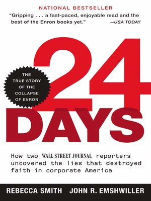 cover image of 24 Days