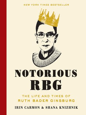 cover image of Notorious RBG