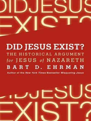 cover image of Did Jesus Exist?