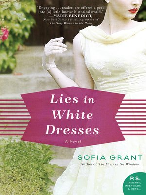 cover image of Lies in White Dresses
