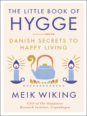 cover image of The Little Book of Hygge