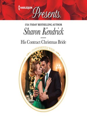 cover image of His Contract Christmas Bride