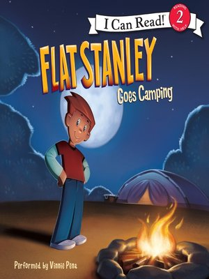 cover image of Flat Stanley Goes Camping
