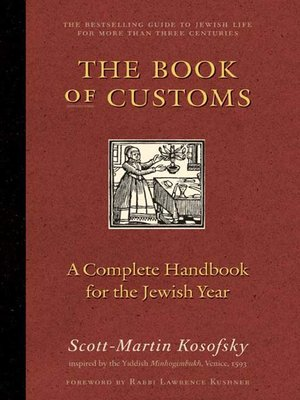 cover image of The Book of Customs