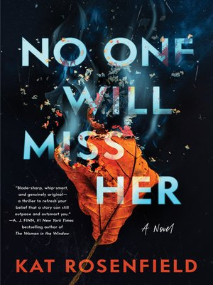 cover image of No One Will Miss Her