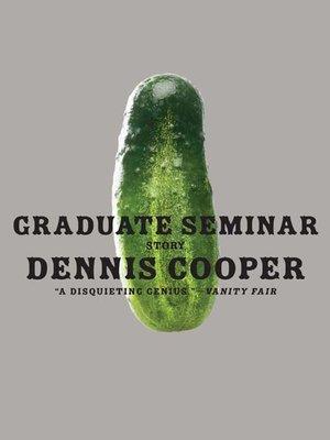 cover image of Graduate Seminar
