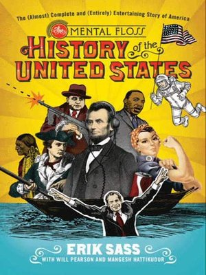 cover image of The Mental Floss History of the United States